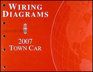 2007 Lincoln Town Car Original Wiring Diagrams