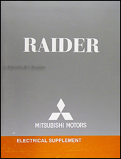 2007 Mitsubishi Raider Wiring Diagram Manual Original
