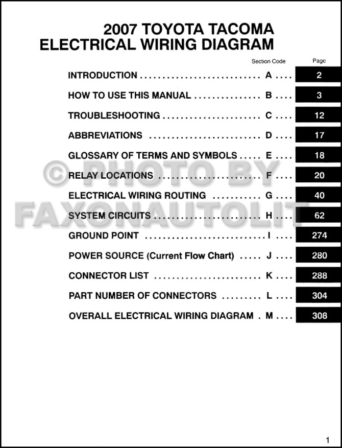 download 4 wire trailer wiring diagram 2007 toyotq tacoma