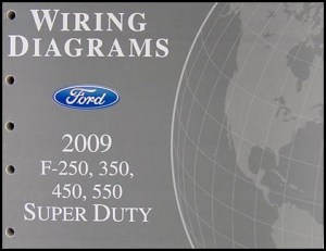 2009 Ford FSuper Duty F250 F350 F450 F550 Repair Shop Manual Set Original