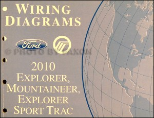 2010 Ford Explorer and Sport Trac, Mountaineer Wiring