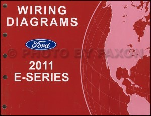 2011 Ford Econoline Wiring Diagram Manual Original Van
