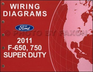 2011 Ford F650 and F750 Super Duty Truck Wiring Diagram