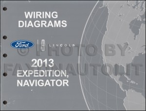 2013 Ford Expedition Lincoln Navigator Wiring Diagram