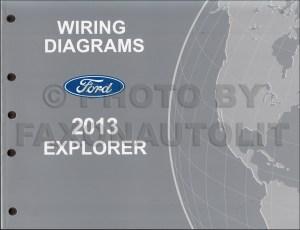 2013 Ford Explorer Wiring Diagram Manual Original