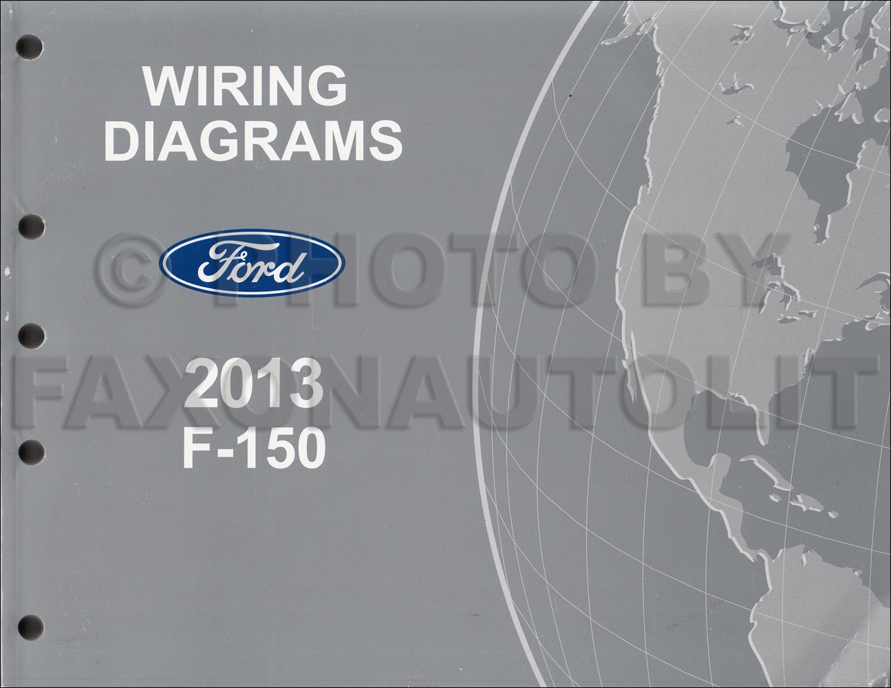 2013 Ford F-150 Wiring Diagram Manual Original