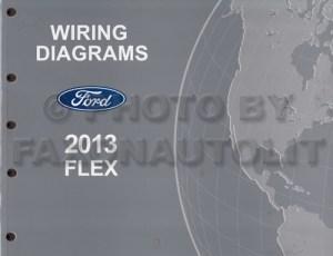 2013 Ford Flex Wiring Diagram Manual Original