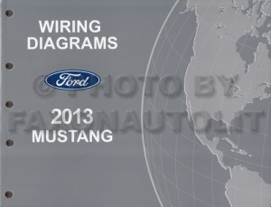 2013 Ford Mustang Wiring Diagram Manual Original