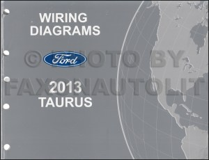 2013 Ford Taurus Repair Shop Manual on CDROM Original