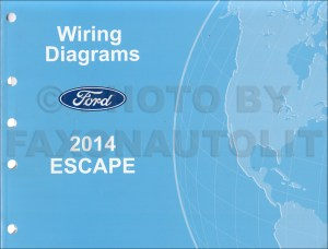 2014 Ford Escape Wiring Diagram Manual Original