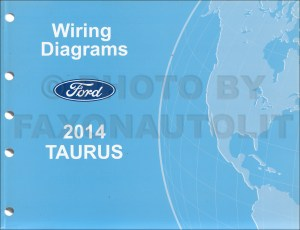 2014 Ford Taurus Wiring Diagram Manual Original