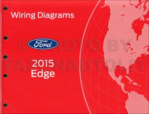 2015 Ford Edge Wiring Diagram Manual Original