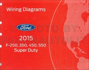 2015 Ford F250F550 Super DutyTruck Wiring Diagram Manual