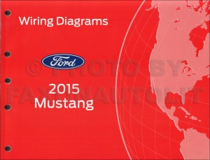 2015 Ford Mustang Wiring Diagram Manual Original