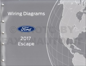 2017 Ford Escape Wiring Diagram Manual Original