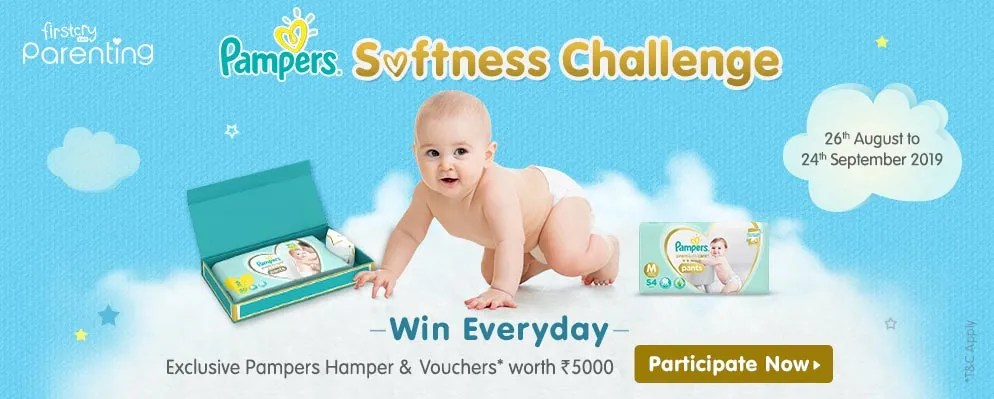 Pampers softness challenge Contest