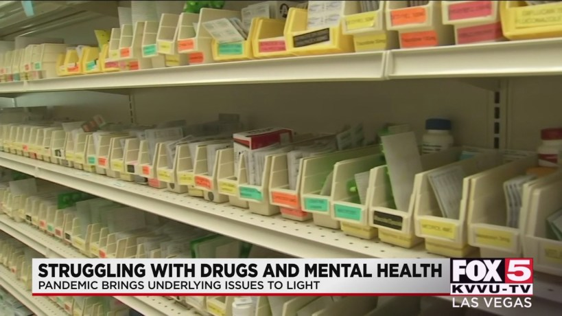 , Las Vegas health officials see rise in mental health issues, addiction amid pandemic, Is it depression or mental disorder?