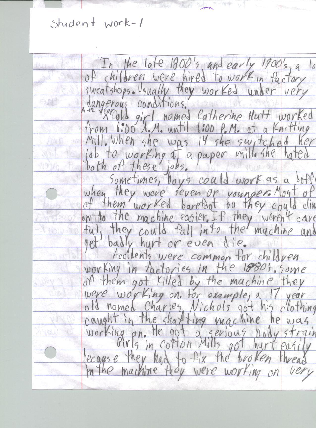 Examples of dbq essays