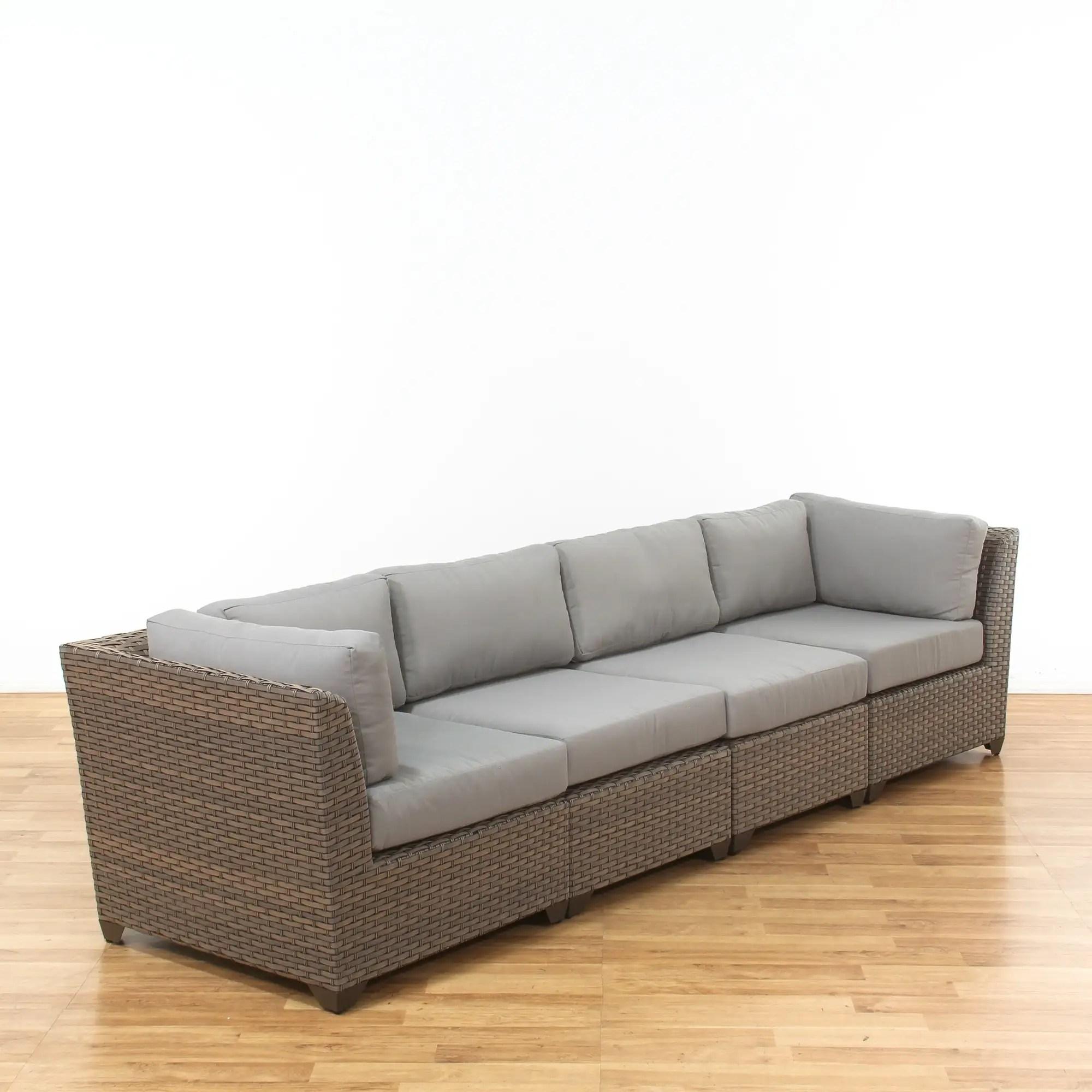 wade logan castelli patio sofa w