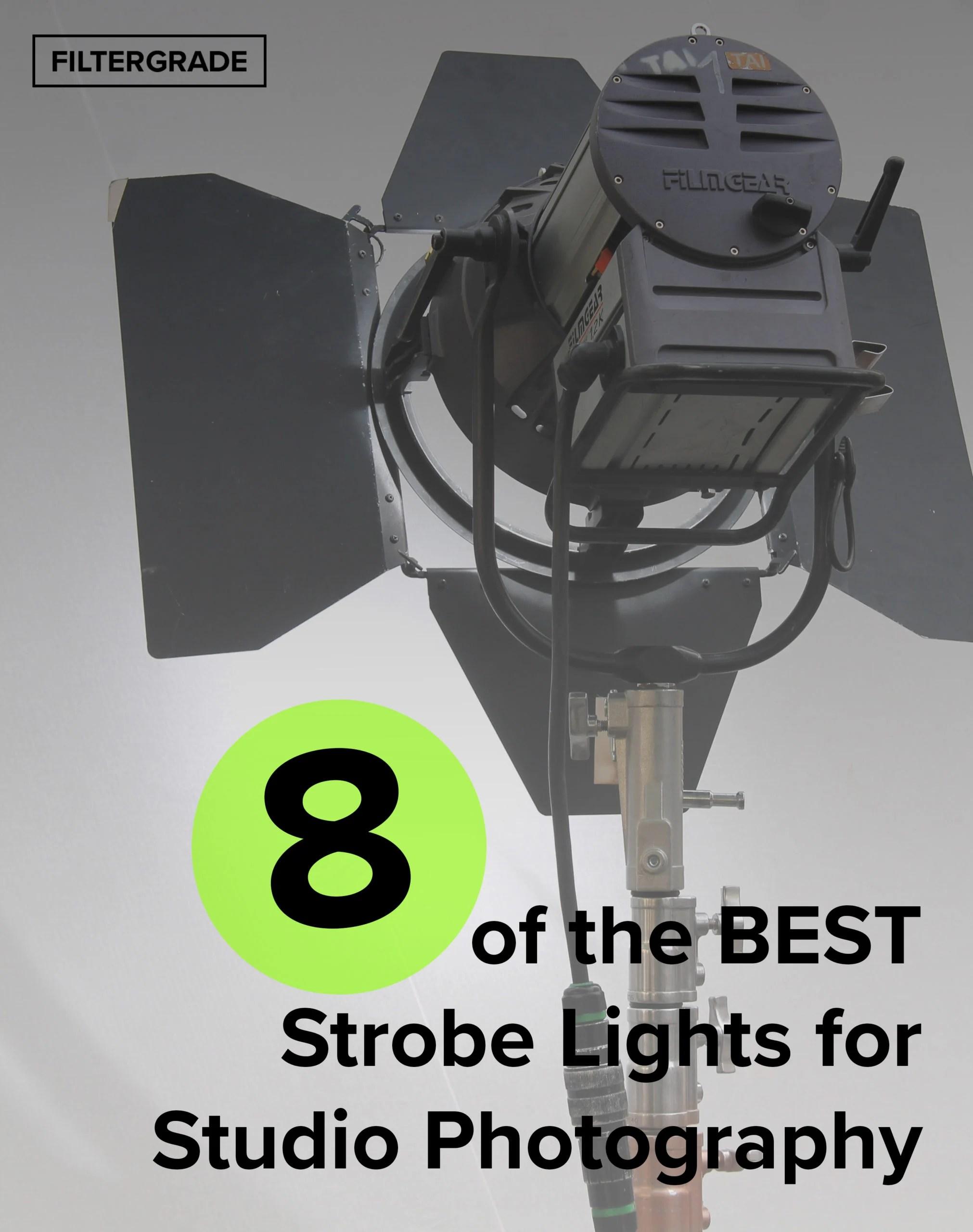 8 of the best strobe lights for studio