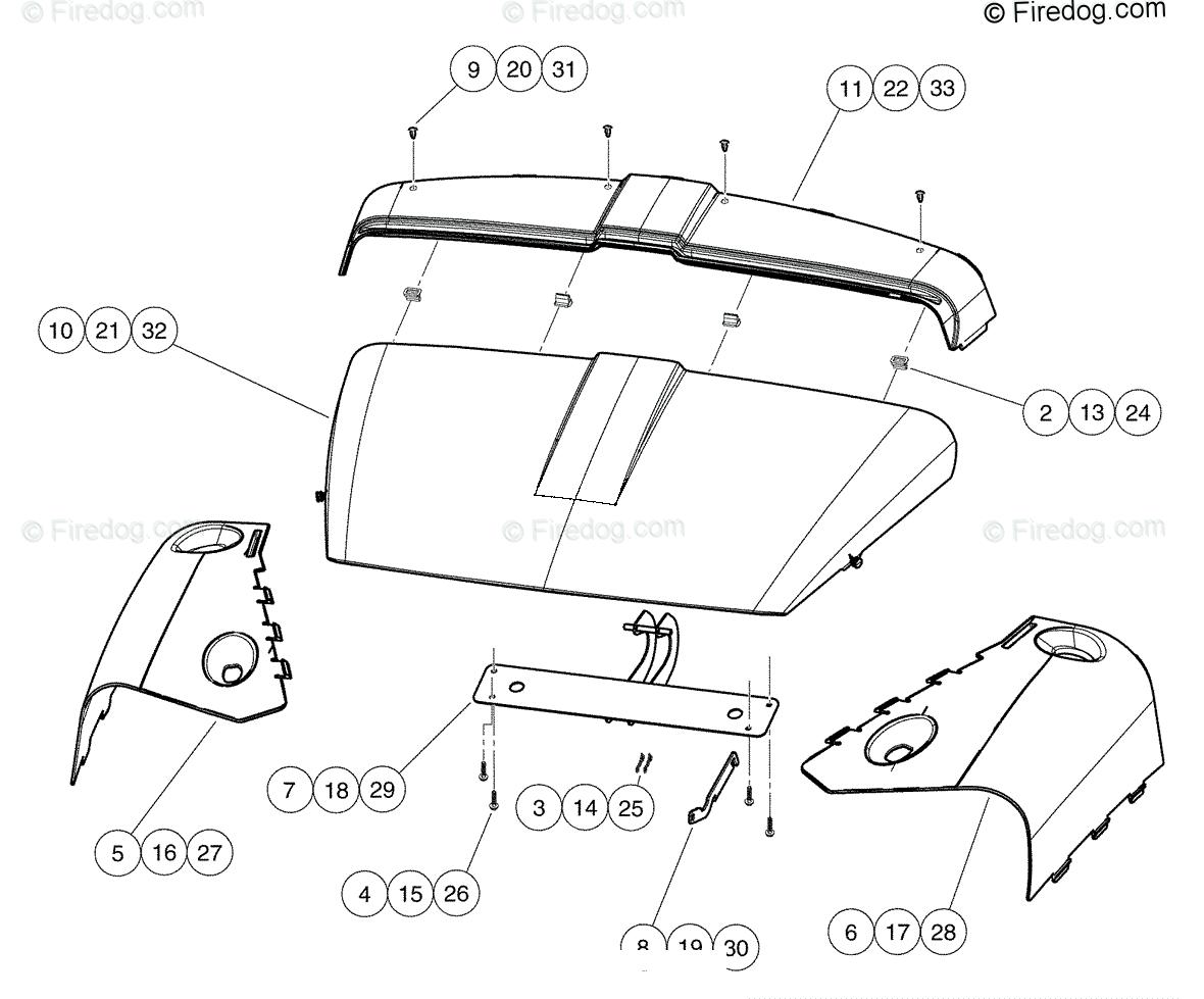 Husqvarna Utility Vehicle Huv G 01 Oem Parts