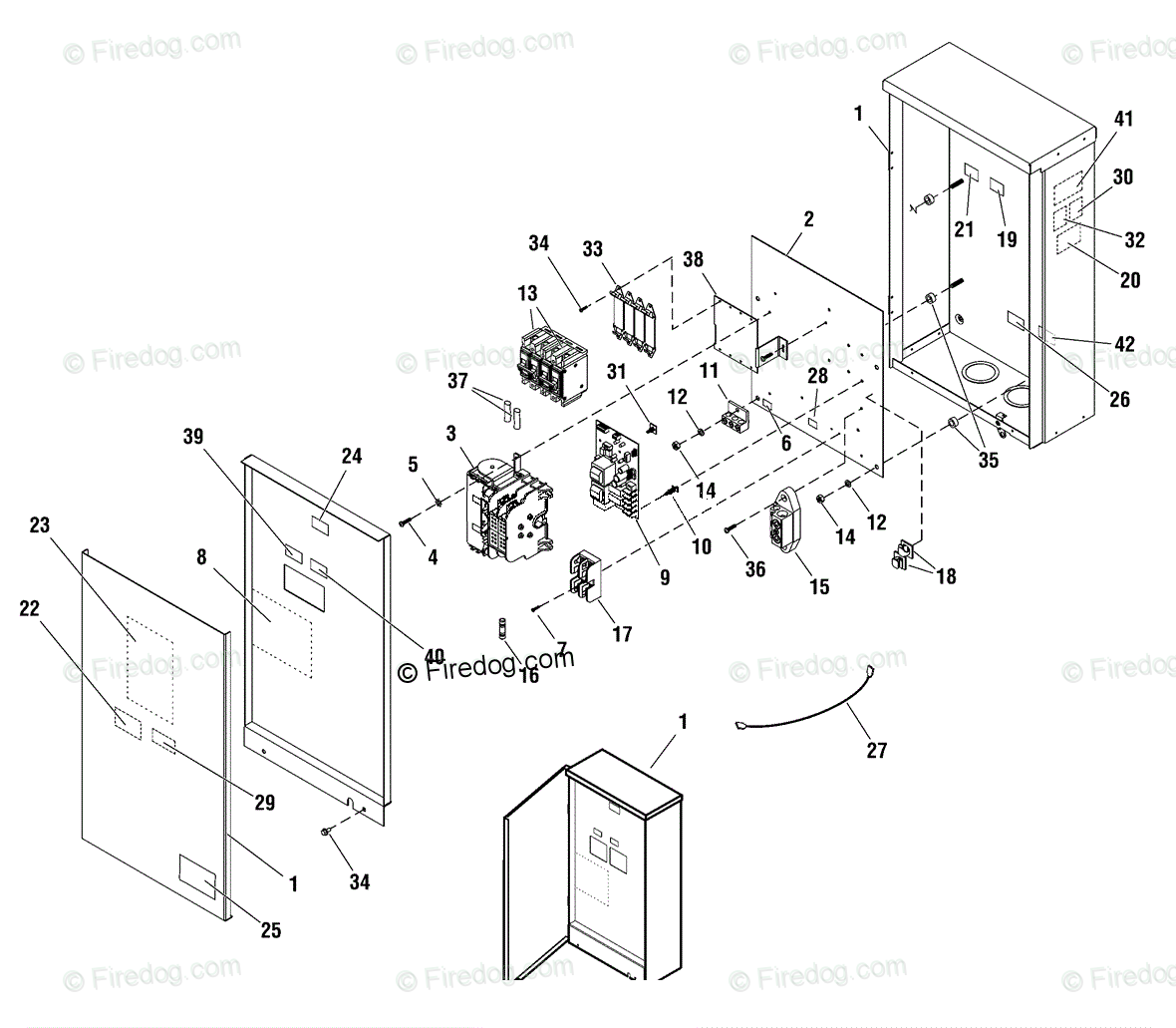 Briggs Amp Stratton Power Products United States Emergency Backup Power Systems Oem Parts Diagram