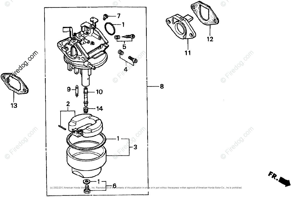 Honda Engines Engine G Oem Parts Diagram For Carburetor 1