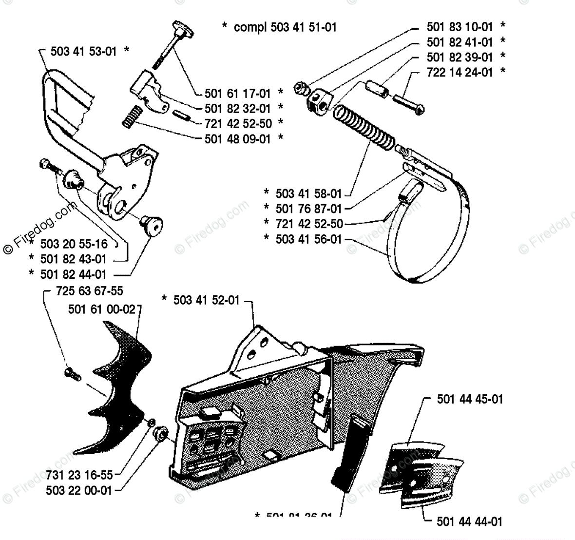 Husqvarna 51 Parts Diagram