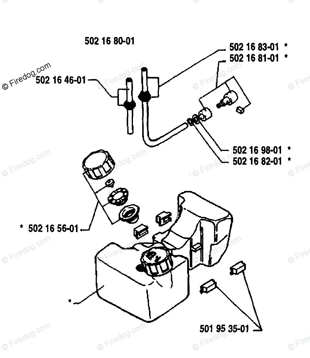 Husqvarna Brush Cutter 25 Rl 10 Oem Parts Diagram