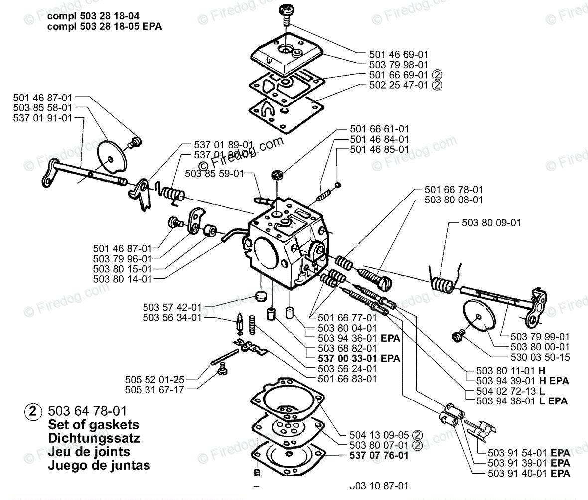 Husqvarna Chain Saw 372 Epa 11 Oem Parts Diagram