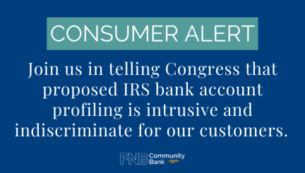 Consumer Alert: Don't Let IRS Invade Your Privacy