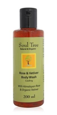 Soul Tree Rose & Vetiver Body Wash
