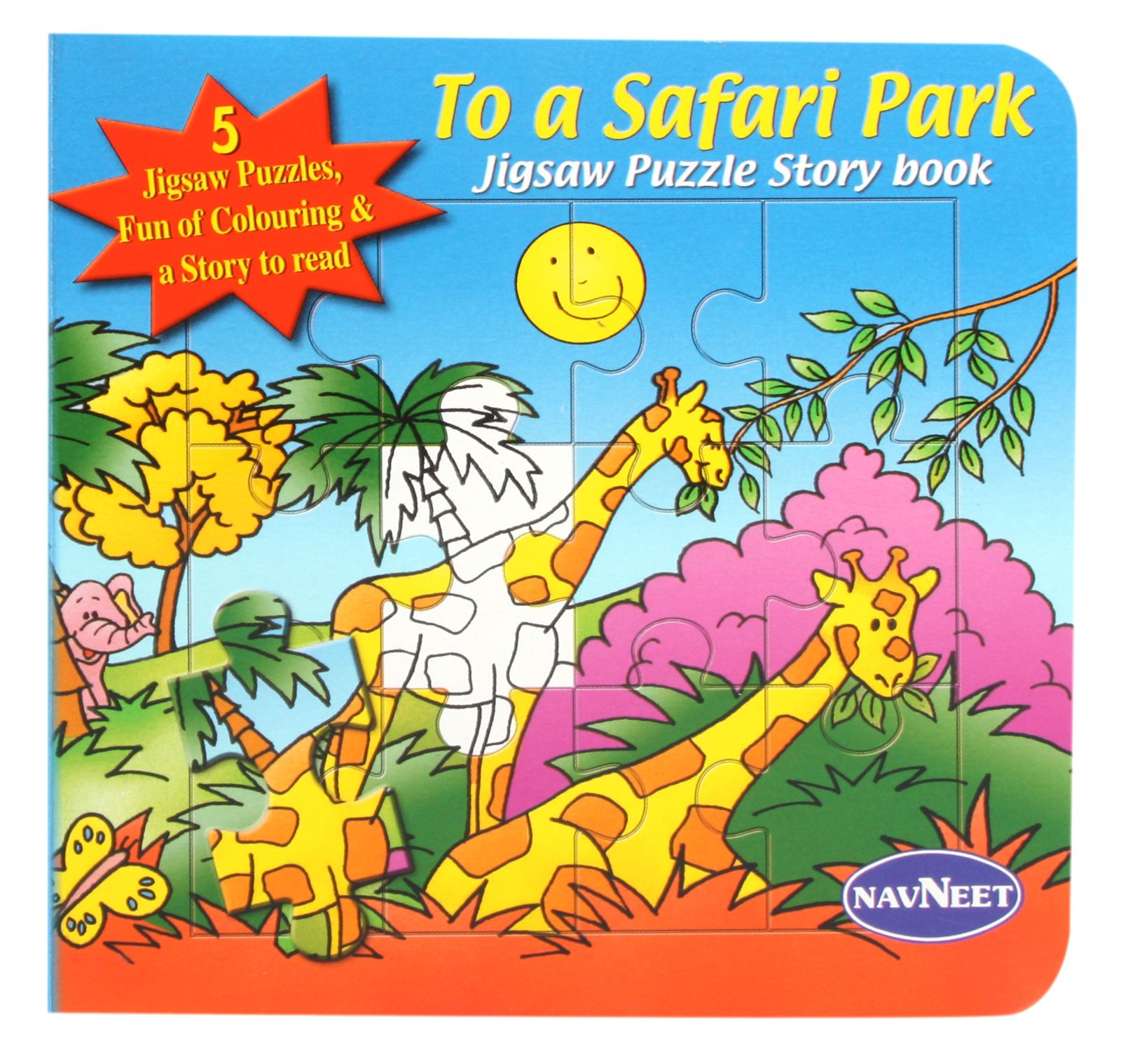 Navneet To A Safari Park Jigsaw Puzzle Story Book Price In