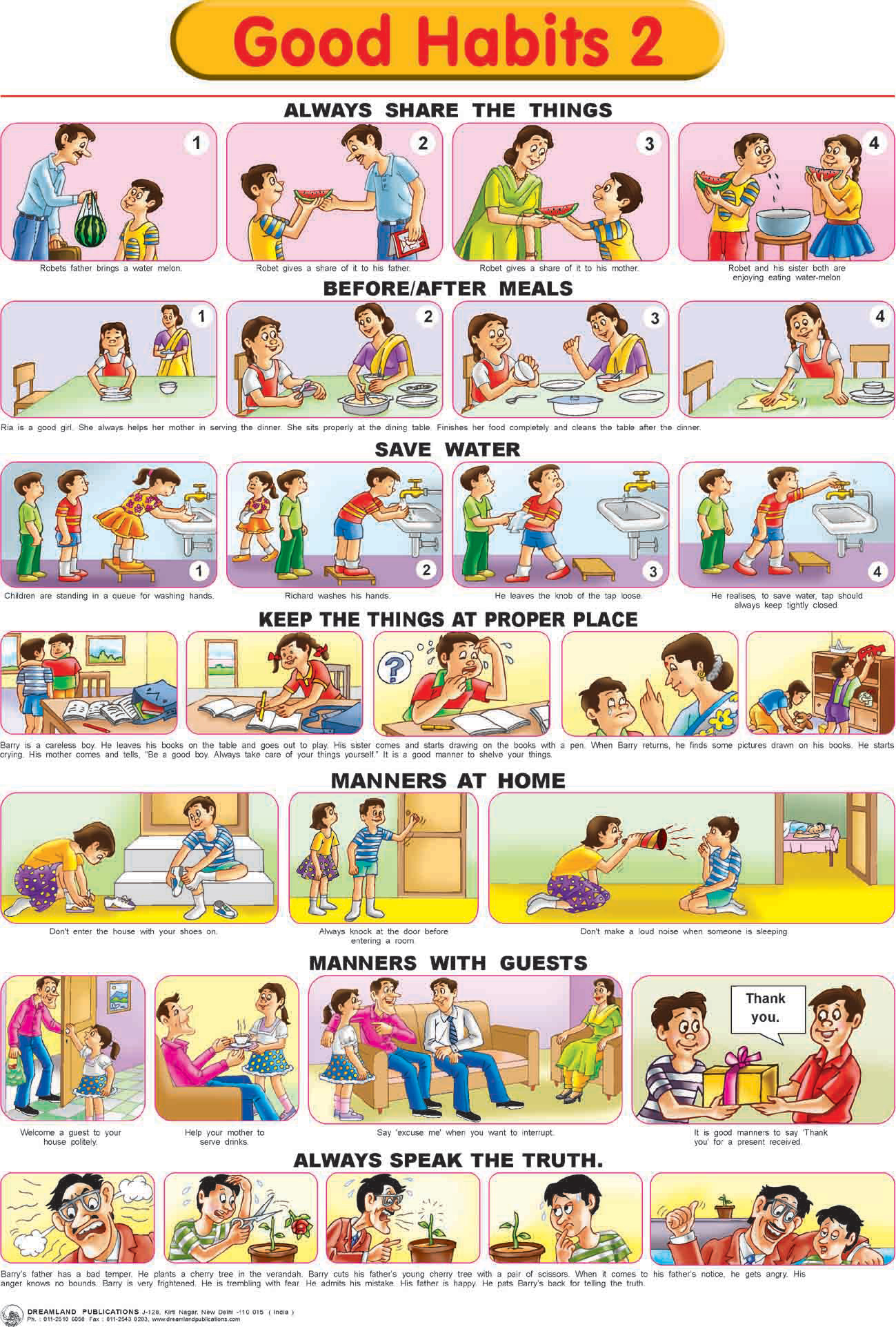 Good Health List Of Good Health Habits