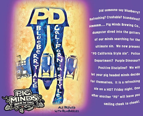 Image result for pig mind brewing pd style ale