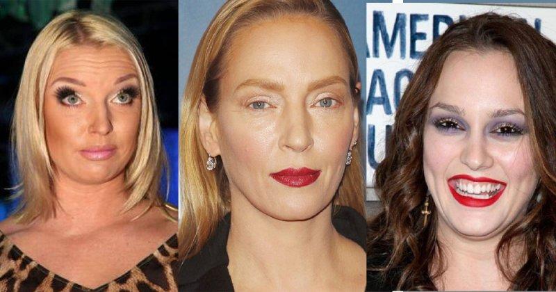 Провальный звездный макияж: зрелище не для слабонервных грим, звезды, знаменитости, косметика, красота, макияж