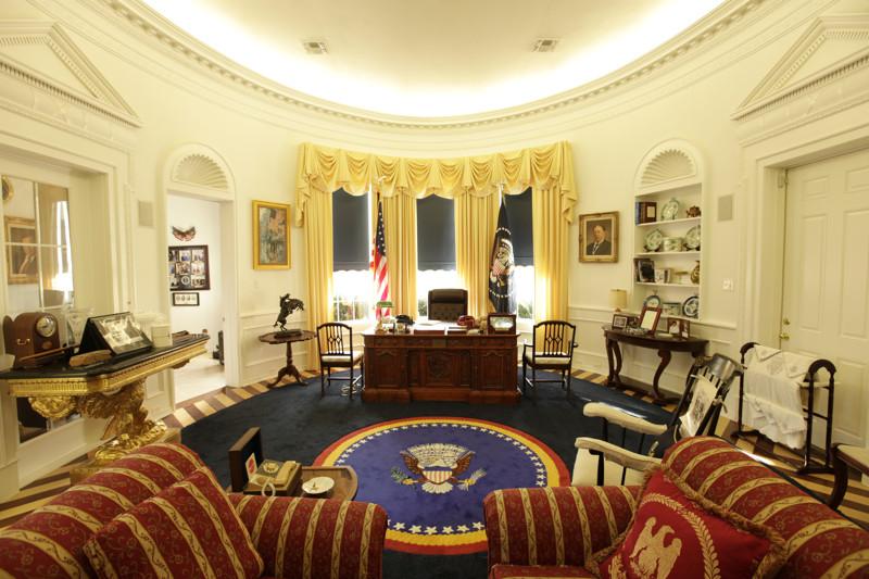 2. США. Кабинеты президентов, фото