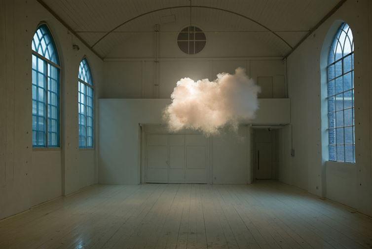 6. Облако в комнате красота, удивительное рядом, фото, фотошоп