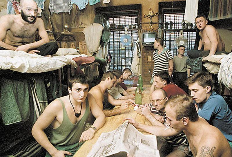 5. Russia Norway, Russia, USA, Prison