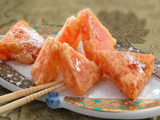 3. Жареный арбуз (Китайская кухня) еда, итальянская кухня, китайская кухня, сделай сам, тайская кухня, фритюр