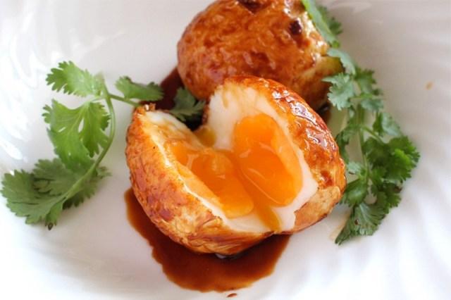 1. Яйца зятя (яйца во фритюре) (Тайская кухня) еда, итальянская кухня, китайская кухня, сделай сам, тайская кухня, фритюр