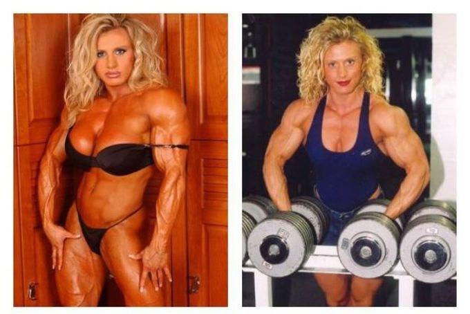 4. Джоанна Клэр Томас steroid, девушки, качки, спорт