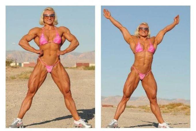 8 женщин и их шокирующие стероидные преобразования steroid, девушки, качки, спорт