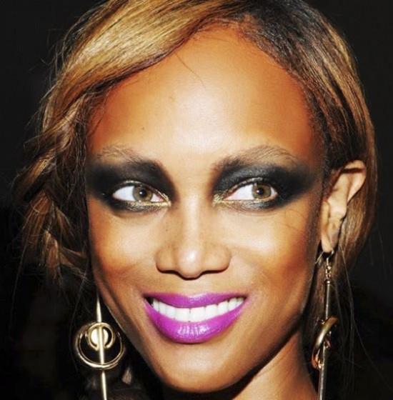 Тайра Бэнкс, супермодель... грим, звезды, знаменитости, косметика, красота, макияж
