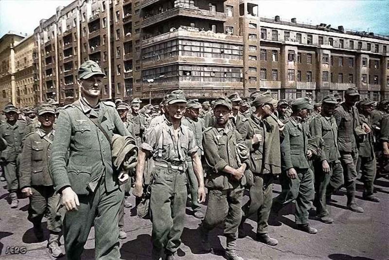 Немецкие военнопленные в СССР вов, история, немцы