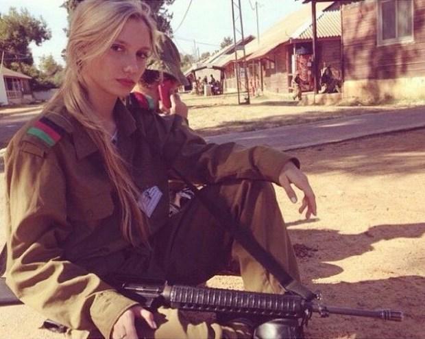 Красотки на службе в израильской армии армия, девушки, израиль