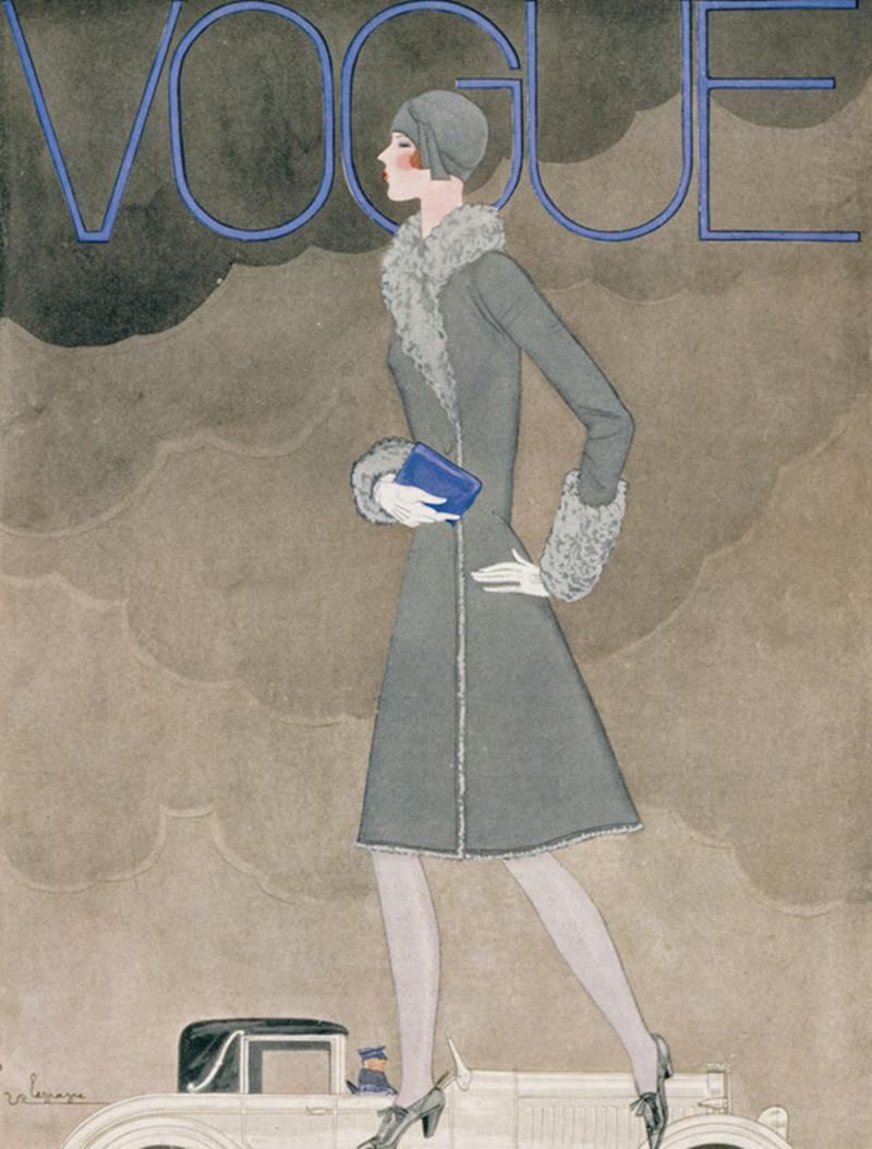 Жорж Лепап, гениальный иллюстратор fashion, vogue, Жорж Лепап, ностальгия