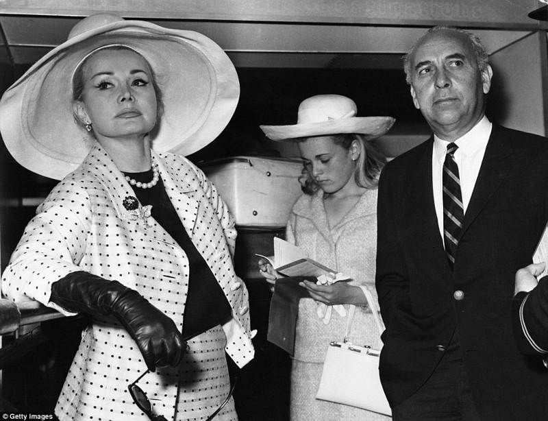 Четвертый муж - Херберт Хатнер (1962-1966) Жа Жа Габор, актриса, жизнь, смерть