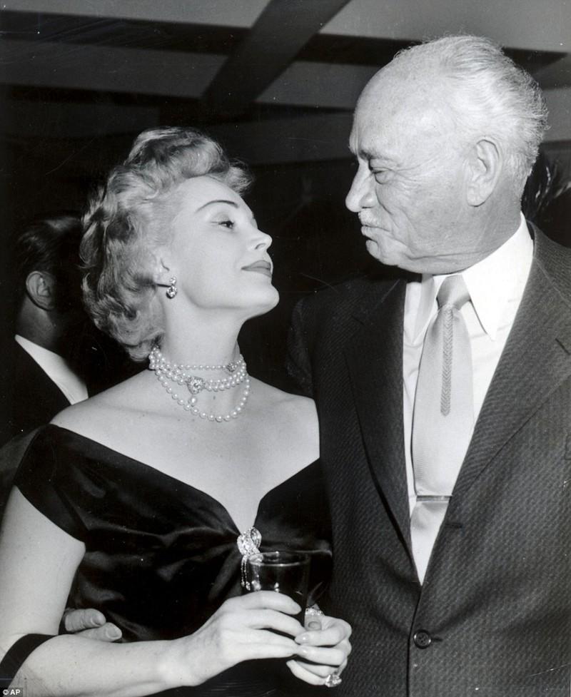 Второй муж - Конрад Хилтон (1942-1947)  Жа Жа Габор, актриса, жизнь, смерть