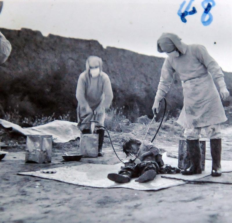 Отряд 731 - зверские опыты над людьми (фото)